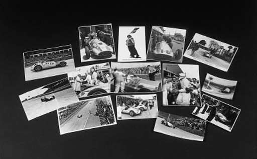 Motor Racing - Mercedes-Benz 1930s - a collection of various loose photographs depicting European events; Press and personal snapshots etc, some reprints and M-Benz, publicity shots.