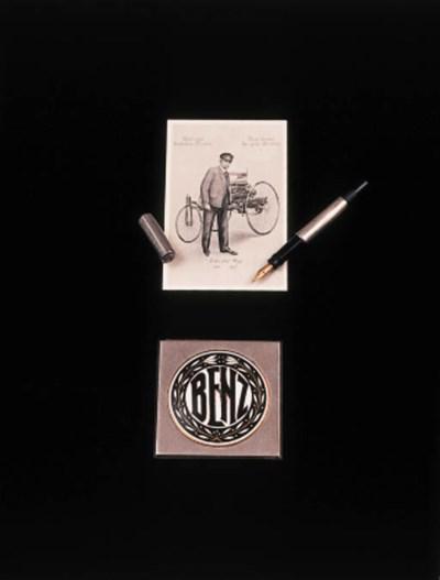 Carl Benz - A pocket fountain-