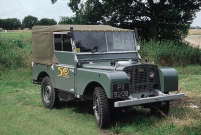 1949 LAND-ROVER FOUR WHEEL DRI