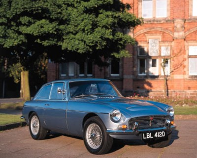 1968 MGC GT TWO SEATER COUPE