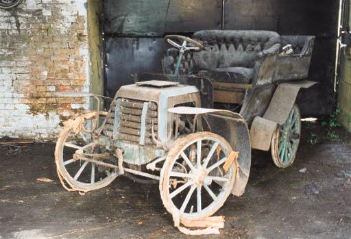 1903 PANHARD-LEVASSOR MODEL A 7HP TONNEAU