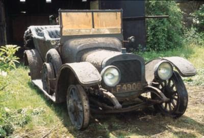 1912 SUNBEAM 16/20hp FIVE SEAT