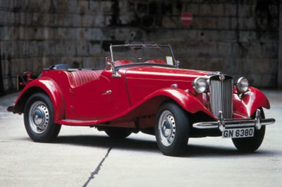 1953 MG TD SPORTS TWO SEATER