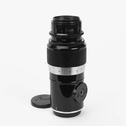 Elmar f/4.5 135mm. lens