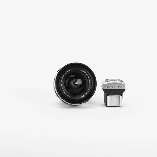 Canon 19mm. f/3.5 no. 10781
