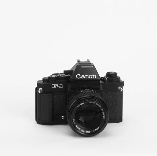 Canon new F1 no. 264210