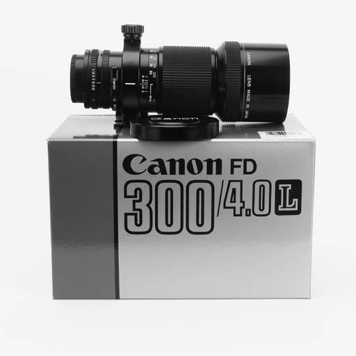 Canon FD 300mm. f/4 L no. 2572