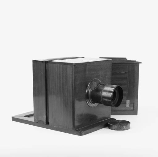 Sliding box camera