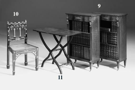 An early Victorian mahogany co