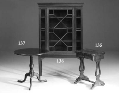 A mahoagny tripod table