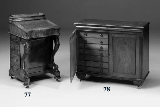 A William IV mahogany collecto