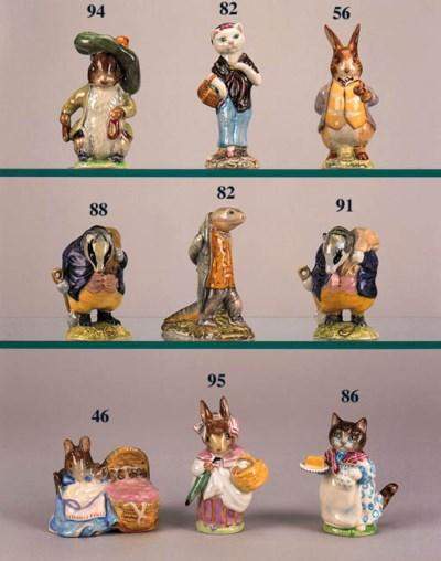'Mr Benjamin Bunny', 'Old Mr P