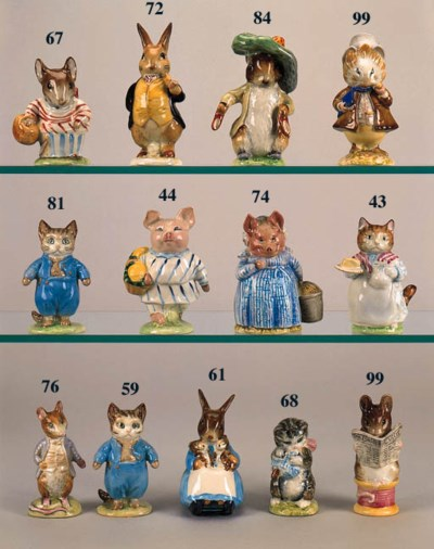 'Mrs Rabbit & Bunnies', 'Flops