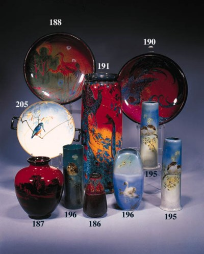 A Sung Flambe vase