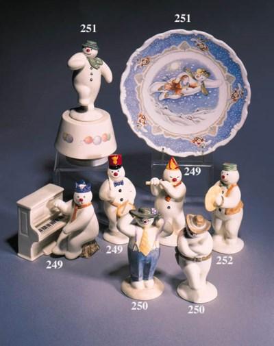 'Flautist Snowman', 'Thankyou