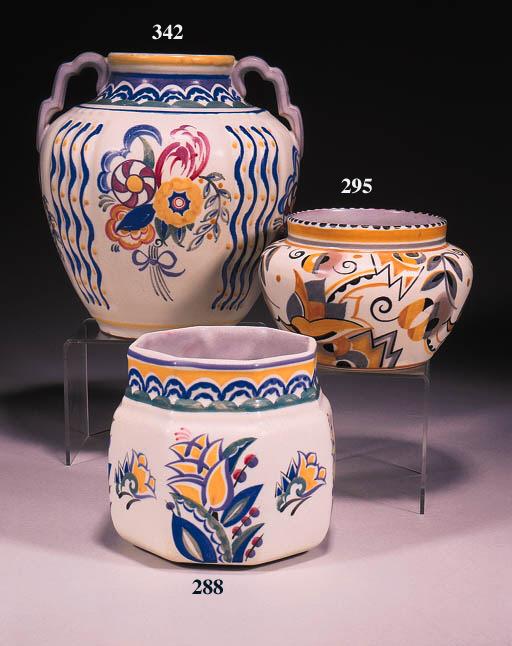 A small shouldered vase