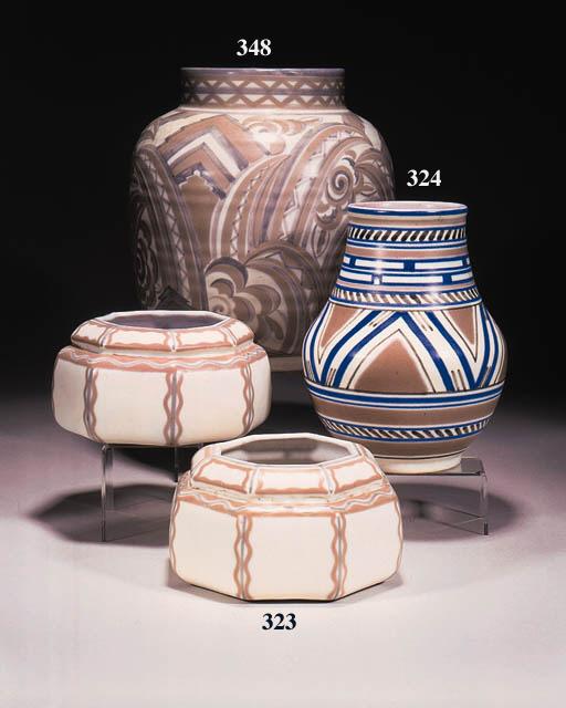 An ovoid vase