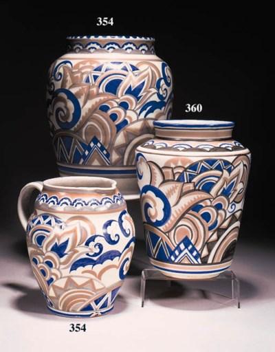 A Carter, Stabler, Adams vase