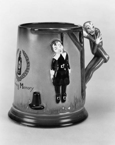 A Puritan drinking mug