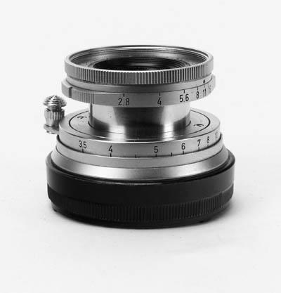 Elmar f/2.8 5cm. no. 1600808