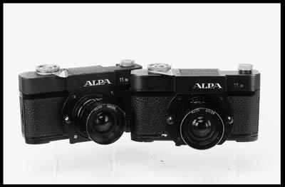 Alpa 11a cameras