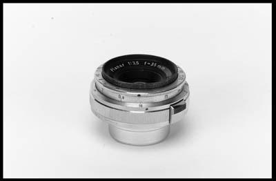 Planar f/3.5 35mm. no. 1347316