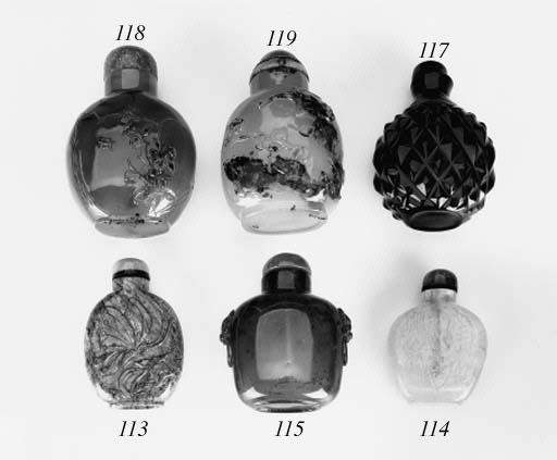 A Soochow agate snuff bottle a