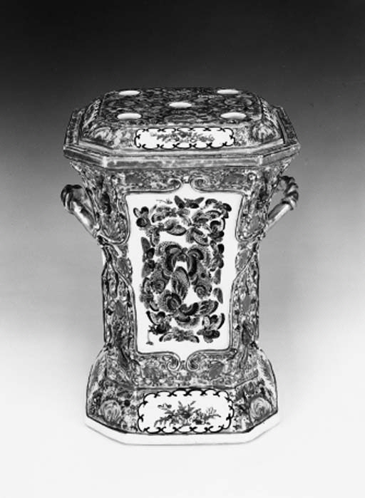 A Cantonese bough pot and cove