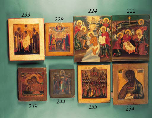 Five named Saints