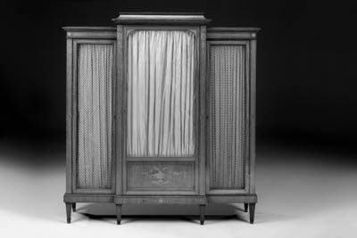 A French satinwood, marquetry