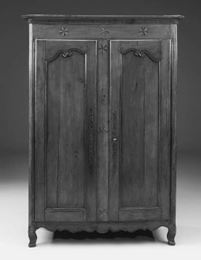 A French cherrywood armoire, 1