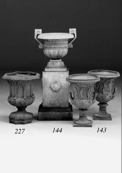 A pair of Douulton stoneware u