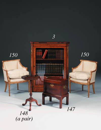 A George III mahogany cellaret