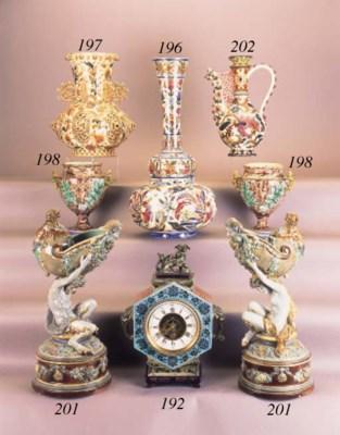 A Zsolnay Pecs globular vase