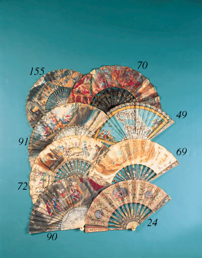 An articulated fan, the silk l