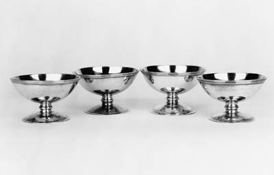 A set of four George III circu