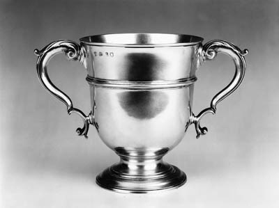 A George II two handled cup