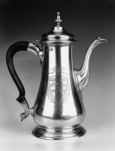 A George III coffeepot