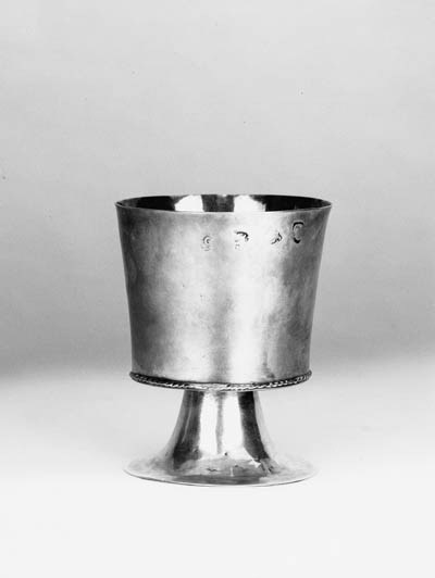 A Charles II small wine goblet