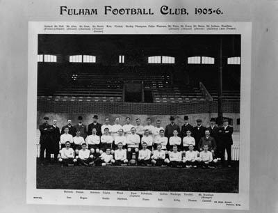 A black and white team photogr