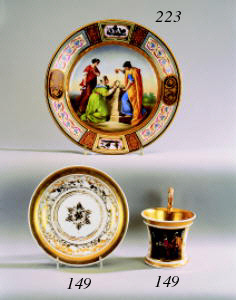 A German porcelain Empire-styl