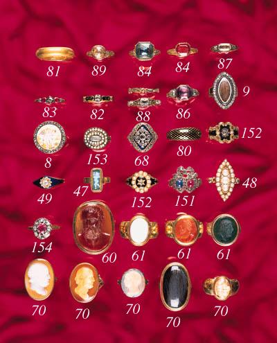 An 18th. Century gold, diamond