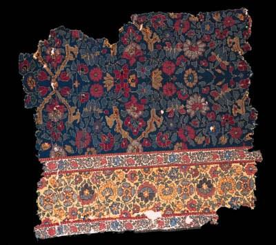 A fragment of jamawar shawl cl