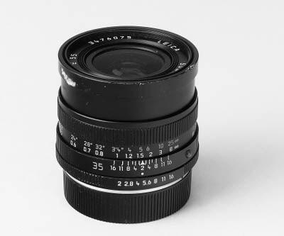 Summicron-R f/2 35mm. no. 3476