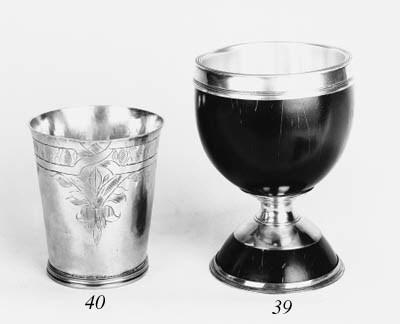 A Charles II beaker