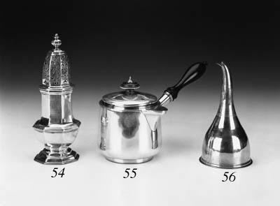 A George IV brandy saucepan,