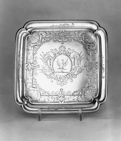 A George II Britannia Standard