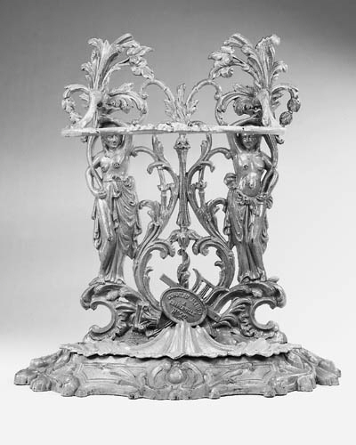 A French cast-iron stick stand