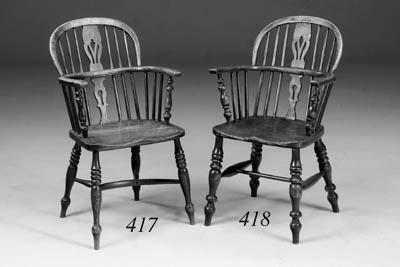 A set of six Lincolnshire ash,