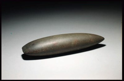 A HEAVY NEOLITHIC POLISHED GRE